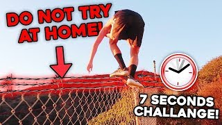 EXTREME 7 SECONDS CHALLENGE!! (things got crazy...)