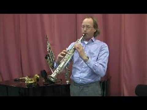 1 sopranino sax & 3 soprano saxophones tested Video