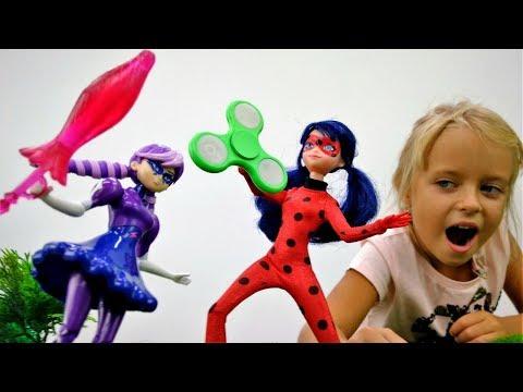 Игры для девочек. Леди Баг помогает Маше