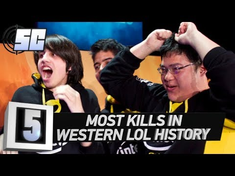 5 Most Kills In Western League of Legends History | LoL eSports