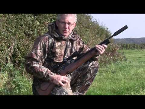 Nigel Allen tests the deciBlocker Air Rifle Silencer