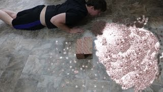 Dropping 10,000 Pennies In Public Prank