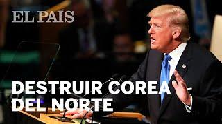 Trump, en la ONU:
