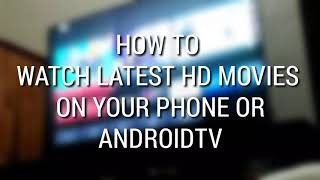 Watch HD FREE Movies and TV Shows on AndroidTV
