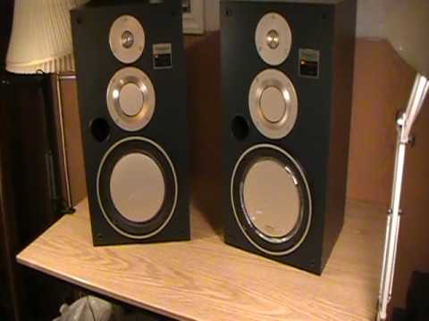 Technics Sb X500 Speakers 1983 Youtube