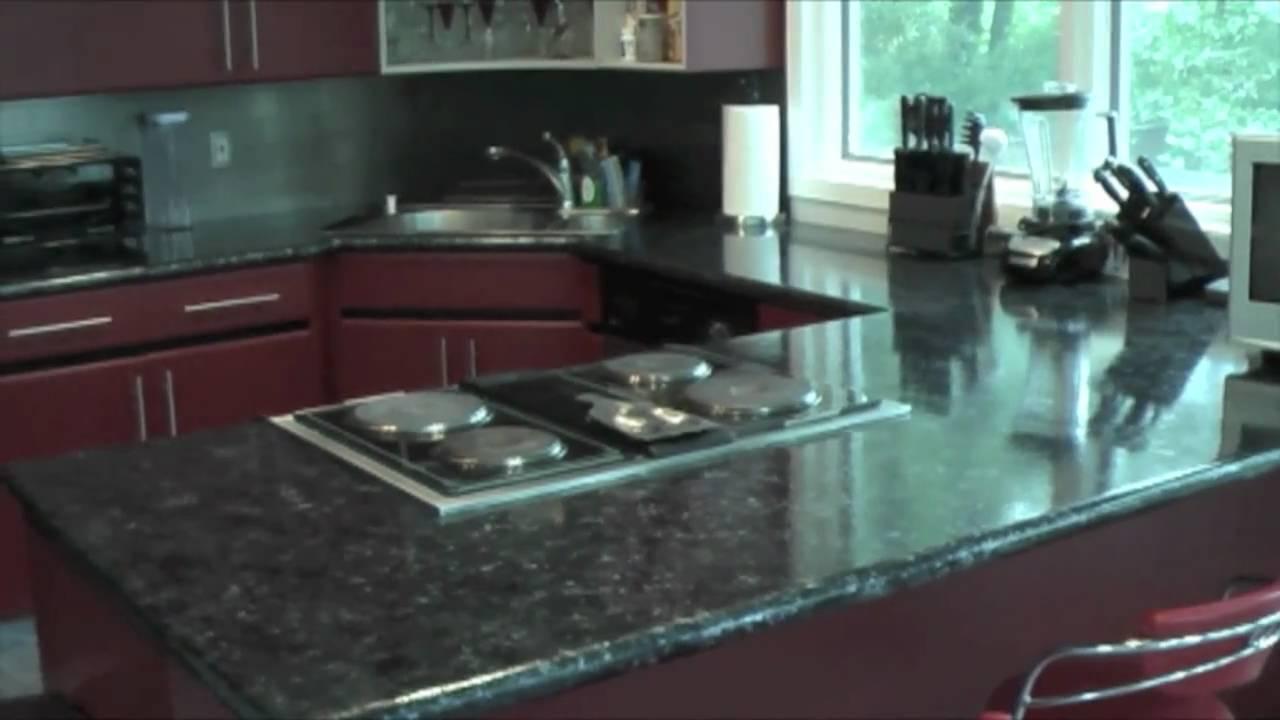 Giani Faux Black Granite Countertop Youtube