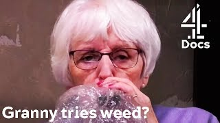 84-Year-Old Granny Tries Weed for the First Time