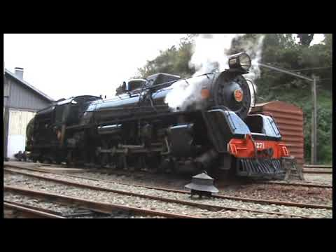 Lighting up a steam loco