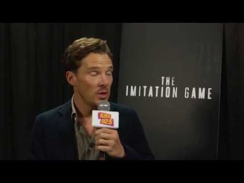 KiSS 92.5: TIFF 2014: Benedict Cumberbatch chats with Damnit Maurie