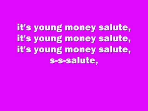 Lil Wayne- YM Salute ft Young Money, Lyrics.wmv