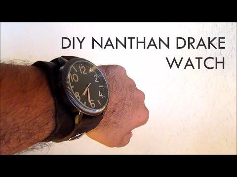 DIY Nathan Drake Watch ($33) - Nerd Builds