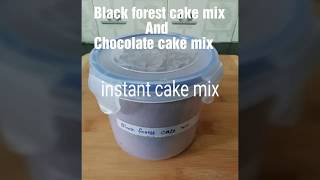 Instant cake mix/how to make instant cake mix