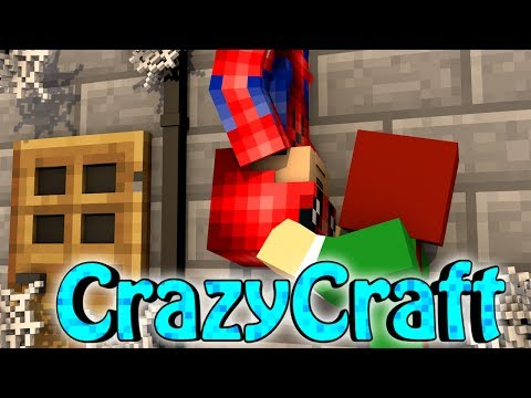 "Minecraft | CrazyCraft 2.0 - OreSpawn Modded Survival Ep 123 - ""SPIDERMAN KISS"""