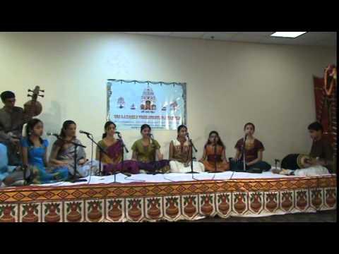 Entharo Mahanubhavulu - Tyagaraja Pancharatna Kriti video