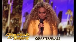 Tyra Banks and Simon Cowell Intro AGT LIVE Shows!   America's Got Talent 2018