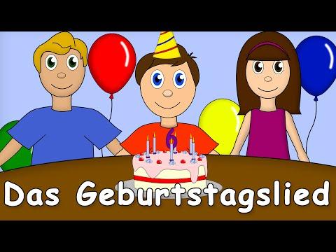 Das Geburtstagslied - Kinderlieder Zum Mitsingen - German Birthday Song