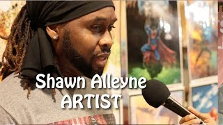 Shawn Alleyne on His Art and Style
