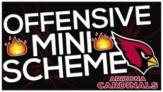 ARIZONA CARDINALS | PISTOL BUNCH TE | MADDEN 18 MINI-SCHEME! BEATS EVERY COVERAGE! | Madden 18