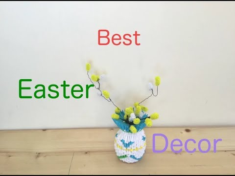3 lovely diy easter decorations for your home | how to
