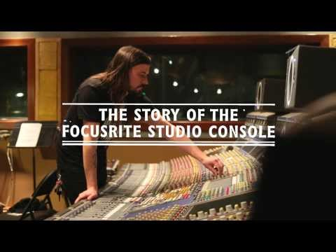 Focusrite // Trailer - The Story of the Focusrite Studio Console