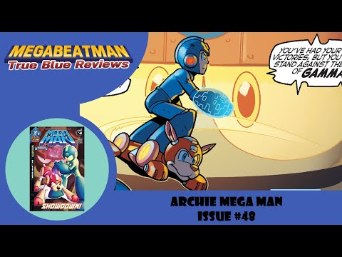 Let's Review Mega Man #48!