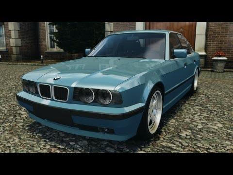 BMW E34 V8 540i