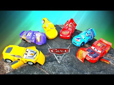 КРУТЫЕ МАШИНКИ ИЗ МУЛЬТИКА #ТАЧКИ 3 Молния Маккуин Крус Рамирес и другие cars #промашинки
