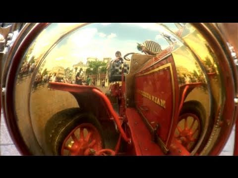 Main Street Vehicles - Disneyland Paris HD Complete Ride Town Square to Central Plaza