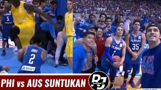BASKETBALL o SUNTUKAN !!!   Gilas Pilipinas vs Australia