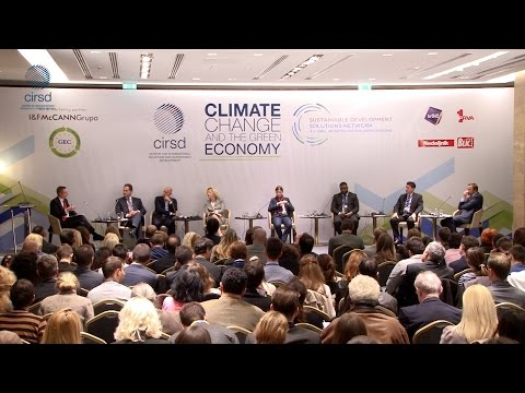 "Climate Change and the Green Economy - ""Green Markets and Investments"" panel"