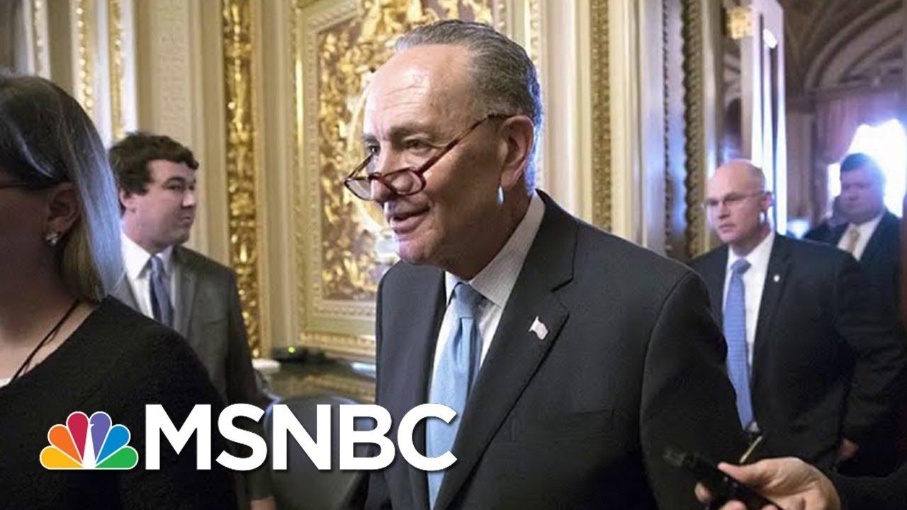 Senate Minority Leader Chuck Schumer Pulls Offer To Fund Border Wall | Morning Joe | MSNBC