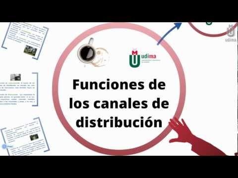 Funciones canales de distribución.