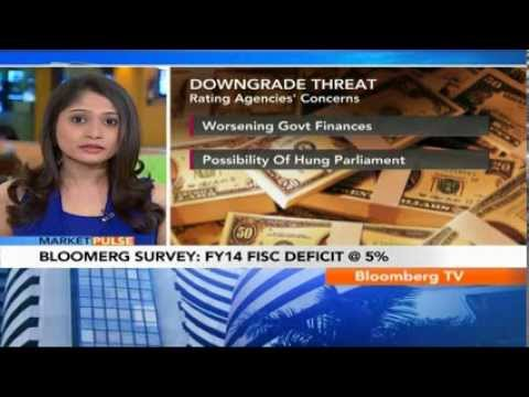 Market Pulse- Bloomberg Survey: FY14 Fiscal Deficit At 5%