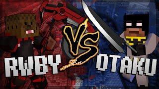 Minecraft Otaku Anime Mod vs RWBY Anime Mod (Mod Battles)