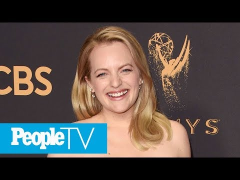 Elisabeth Moss Says She's The 'The Handmaid's Tale' Class Clown On Set | PeopleTV