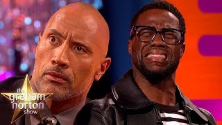Kevin Hart HATES Dwayne Johnson's Smoulder | The Graham Norton Show