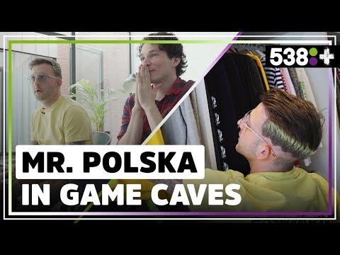 Exclusief kijkje in Mr. Polska's nieuwe huis! | GAME CAVES #1