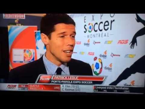 Expo Soccer Montréal   Conférence de presse