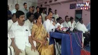 Dharmapuri Srinivas Speaks To Media | Nizamabad
