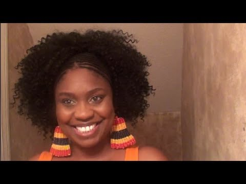 Natural Hair Protective Customizing Curly Weaves or Wigs