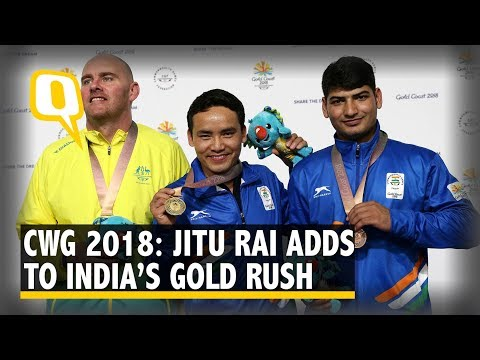 CWG 2018: Jitu Rai Shoots Down Record To Win Gold, Mitharval Bags Bronze | The Quint