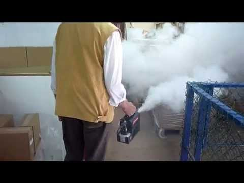 mini smoke machine battery powered
