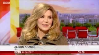 Alison Krauss BBC Breakfast 2017