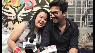 Bharti Singh FUNNY Interview With Husband Harsh Limbachiyaa