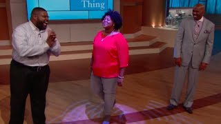 Father/daughter beat box masters! || STEVE HARVEY