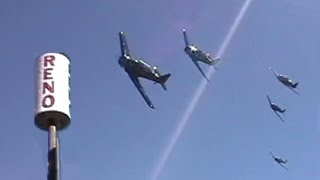 Ultimate 500 MPH Experience at Reno Air Races High Speed Pylon Flybys