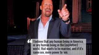 Stone Cold Steve Austin's Controversial Comments On Gay Marriage