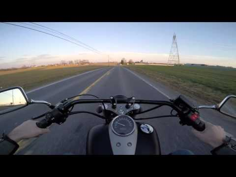 2013 Honda Shadow 750 Phantom Riding Review