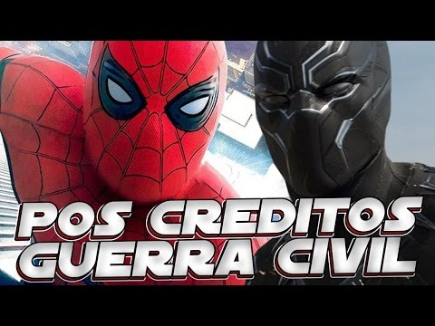 AS 2 CENAS PÓS CREDITOS DE CAPITAO AMERICA GUERRA CIVIL