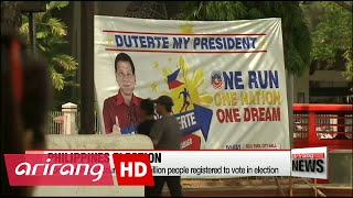 'Donald Trump' of Philippines expected to win presidential election